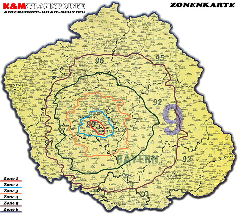 Zonenkarte